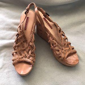 Prada Wedged Heels - Cork